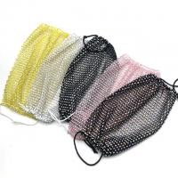 Best Reusasble Private Daily Party Show Shiny Face Mask Magic Bling Crystal face Mask wholesale