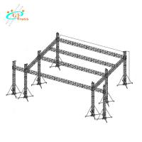 Best Aluminum Outdoor Concert Stage Small Concert Sound Lighting DJ System Stage wholesale