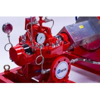 Buy cheap Single Stage End Suction Horizontal Fire Pump Set With Diesel Engine , UL / FM from wholesalers