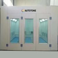 China Economic Paint Spray Booth Autotone brand, Yellow Red White Light Blue Painting Hot Turbo Power Room Air Baking Fan on sale