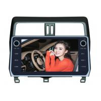 Cheap Toyota Prado 2018 Android Car DVD Player 10.1 Inch GPS Android Version 8.0x for sale