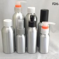 China Empty Cosmetic Aluminum Bottles , Refillable Travel Airless Cosmetic Bottles on sale