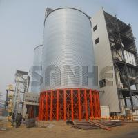 Best Grain storage galvanized steel silo assembled with Hot galvanized steel plate use for storage maize/soya/wheat wholesale