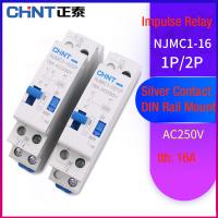 China Impulse Latching Relay Industrial Electrical Controls 1 Phase 16A 250V AC-28V DC on sale