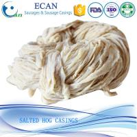 Best Good Taste Tubed Salted Hog Casing, Salted Hog Casing, Pork Casing, Natural Sausage Casing wholesale
