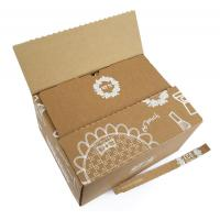 Best Custom Printed Corrugated Shipping Boxes , Durable Fruit Packaging Boxes wholesale
