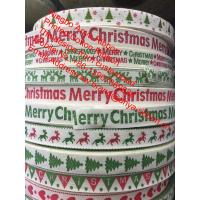 Best High quality 15mm printed cotton ribbon,wholesale character,Christmas ribbon,decoration ribbon,Labels Handmade DIY wholesale