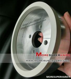 China Vitrified bond diamond grinding wheels for pcd tools on sale