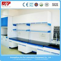 China Wall Mount Pharmaceutical Lab Furniture Chemical Resistant For Hospital on sale