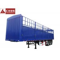 Best Multi - Function Cargo Container Trailer 40ft High Strength Non - Outside Tyres wholesale