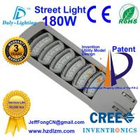 LED Street Light 180W with CE,RoHS Certified and Best Cooling Efficiency Road Lamp Made in China