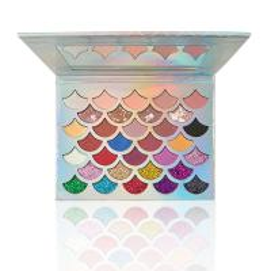 Best Mermaid Shell Shape Eye Makeup Eyeshadow High Pigmented Glitter Type 32 Colors wholesale