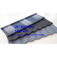Cheap Lightweight Colorful stone coated Metal Roofing tiles 1340*420*0.4 mm for sale