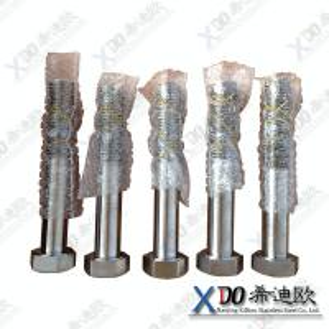 Best 1.4529 N08926 AL6XN fastener stainless steel hex bolt,half thread DIN931 wholesale