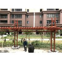Best Professional Light Steel Frame Construction For Garden Pergola Gazebo ISO Approval wholesale