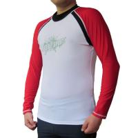 China BONZ Men's Sport Fit Rashguard Surf Swimwear Shirt Long Sleeve on sale