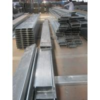 Best Hot Dipped Galvanised Steel Purlines By Galvanizing Steel Strip For Prefab House wholesale