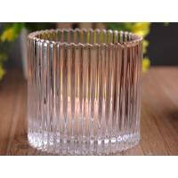 China 530Ml Personalized Glass Candle Holders For Table , Eco Friendly on sale