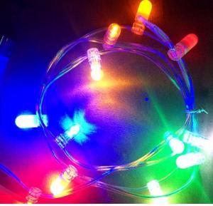 China Outdoor Decorative Christmas Tree Light String 100m 666leds color changing 12V LED Clip Lights on sale