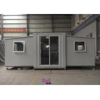 Best Quickly Installation Folding Container House , Prefab Farm Homes Fire Proof Material wholesale