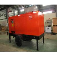 Best Water Cooled Diesel Generator Trailer , AC Three Phase Diesel Engine Generator wholesale