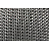 Best Satin Black Limited Vision Mesh , Single Through Aluminium Security Mesh Sheets wholesale