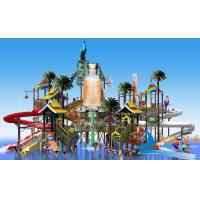 Best Kids Outside Play Richful Colors Aqua Tower Water Playground Equipment For Water Park wholesale