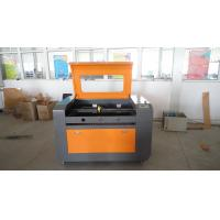 China Co2 Laser Wood Engraving Machine Size 500 * 700mm , Rubber Stamp Engraving Machine on sale