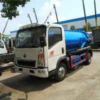 China 266HP 6m³ Sewage Suction Truck For Dirty Water Euro 2 Manual Transmission Type on sale