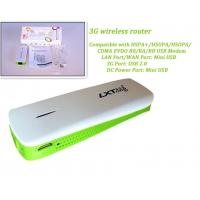 Cheap 3G Hotspot Mini WiFi AP 3G Wireless Router with 1800mAh Power Bank for sale