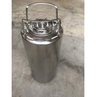 Best Stainless steel ball lock keg with metal handle, 6L/9L,/10L/12L,/18.5L for home brew wholesale