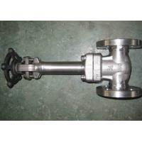 China LF2 LF3 API 602 Forged Steel Valve , Cryogenic Gate Valve Extended Bonnet Welded Seat HF on sale