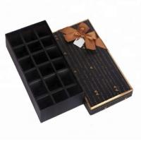 China Fancy Indian Sweet Gift Packaging Boxes Wholesale Cardboard Chocolate Box on sale