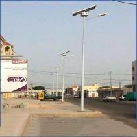 China 35 ft 90 ft Galvanized Steel Power Pole Octagonal Shape For Transimission Line on sale