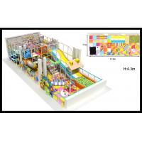 China Better Middle Size Community Multiple Children Soft Indoor Playground With Slide on sale