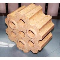 China 7 holes checker bricks in refractory on sale