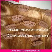 China wholesale virgin brazilian clip in hair extensions/clip in human hair extensions/clip in hair extension on sale