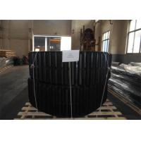 Buy cheap Large Dumper Rubber Tracks 650 * 125 * 78mm With Low Ground Pressure from wholesalers