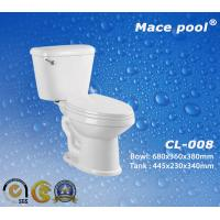 Best Popular Ceramic Material Two-Piece Toilets (CL-008) wholesale