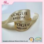 Best 50 / 100 yards per roll custom badge ribbons , personalised cake ribbon eco friendly wholesale
