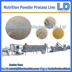 Best Nutrition powder /baby rice powder making machine wholesale