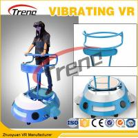 5.5 Inch HD 2K Screen Roller Coaster Vibrating VR Simulator For Amusement Park