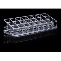 China Tattoo Accessories Crystal Clear Acrylic Ink Cup Holder 24 Holes Permanent Makeup Holder on sale