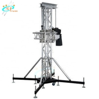 Best 6061 Telescopic Lifting Tower For Aluminum Stage Lighting Truss System wholesale