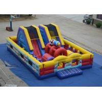 China Durable Big inflatable fun city - airplane theme fun city at Xincheng inflatables ltd on sale