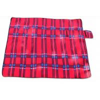 Buy cheap Red Outdoor Camping Mat Waterproof Picnic Blanket Polyester Sponge Material from wholesalers