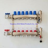 China 6 Branch Floor Heating Manifold for Underfloor Heating System Products on sale