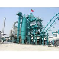 China Asphalt Drum Mix Plant With 16000L Bitumen Tank 300000 Kilocalorie Heat Supply Boiler on sale