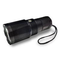 Best High Lumen Rechargeable LED Flashlight IP67 Waterproof For Security wholesale