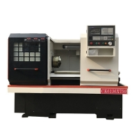China Cnc Lathe Machine CK6136 CK6150 CK6166 Cnc Metal Turning Flat Bed on sale